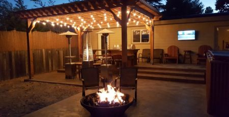 California DIY pergola kit