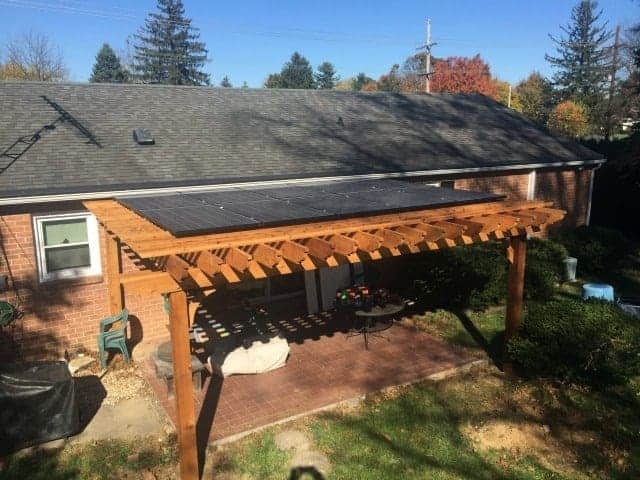 Charmant Solid Wood Patio Cover