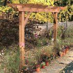 16′ Brim Pergola Kit – Cedar