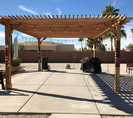 Big Kahuna Pergola Product - Freestanding