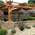 Fedora pergola kit patio cover