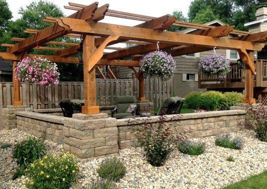 Fedora pergola kit patio cover