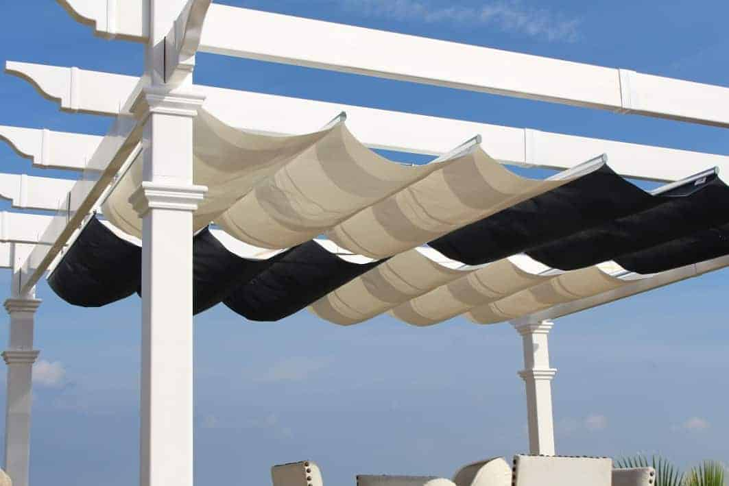 Retractable Canopy For Attached Pergolas Pergola Depot