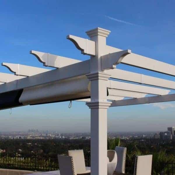 Retractable Canopy For Attached Pergolas