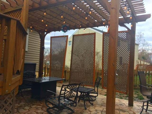 Patio Shelter For Shade Or Privacy