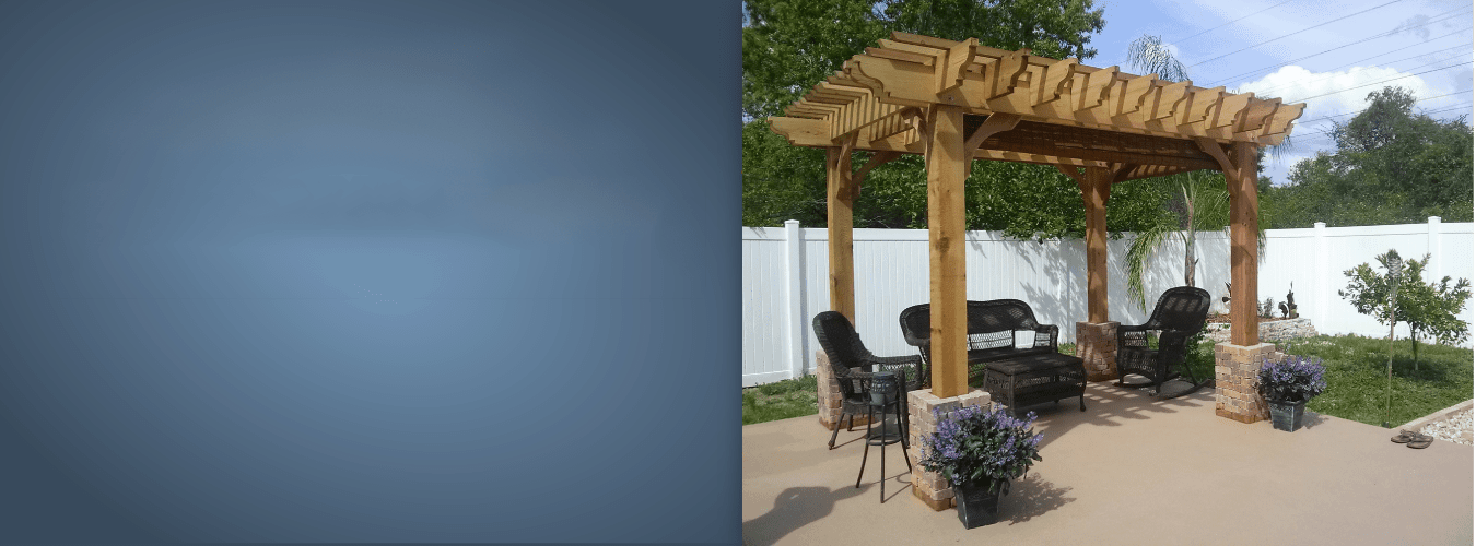 Covered Pergola Patio