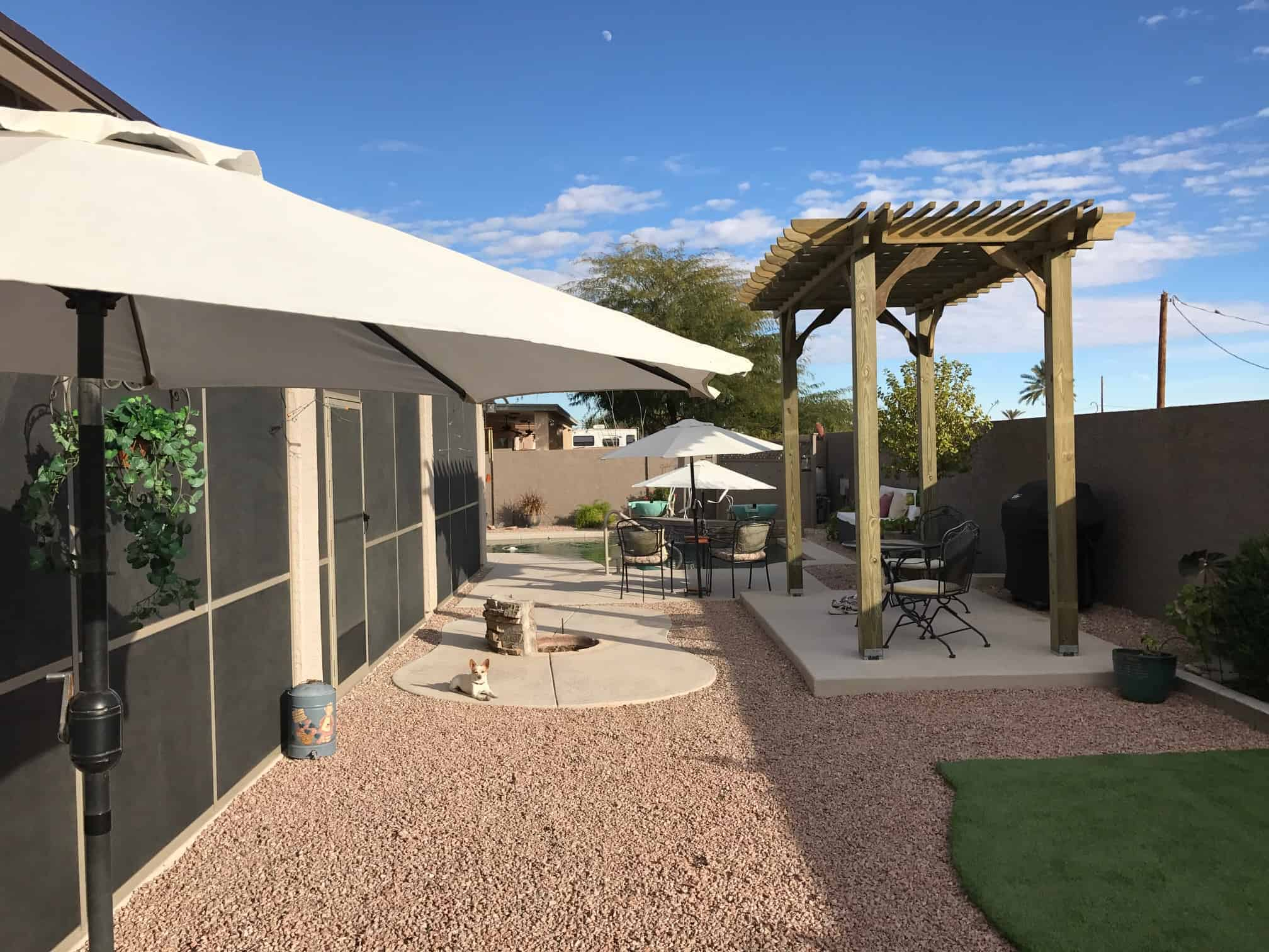 Arizona patio shade kit