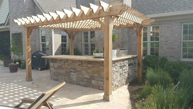 backyard shade covers Wildwood Land