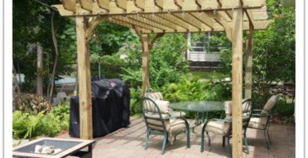 wood arbor kit