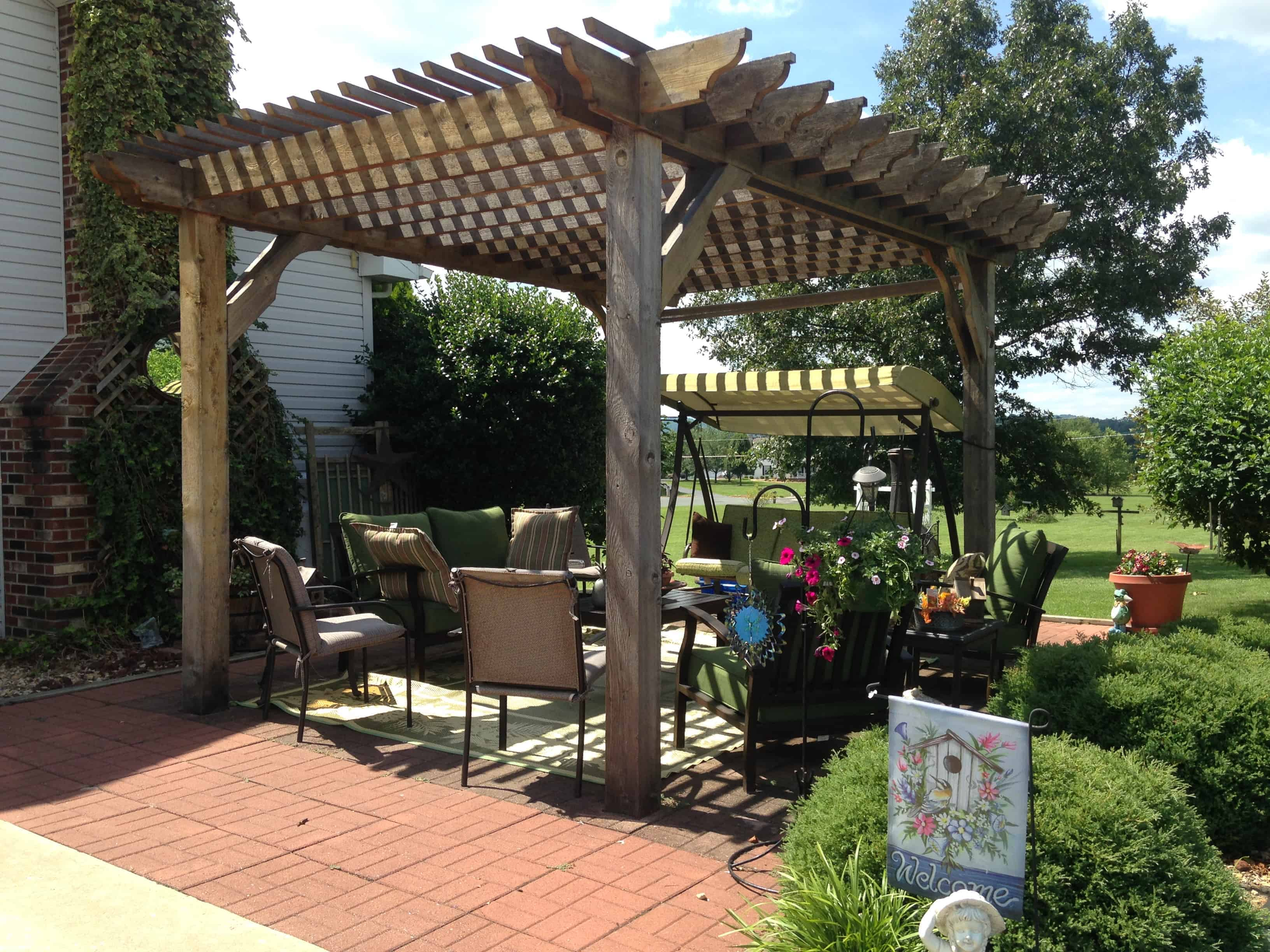 Virginia Backyard Retreat. Virginia Pergola Kit ...