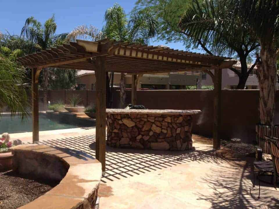 Our Solid Wood Pergolas Add Shade And Style To Your Outdoor Patio With  Sturdy Beams And Beefy Posts. For Additional Protection From The Sun, Add A  Canopy To ...