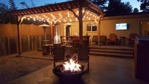 pergola design for backyard retreat