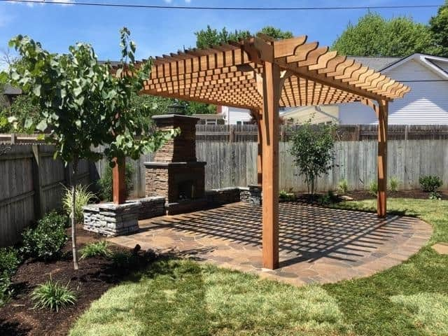 Outdoor Fireplace Ideas With Pergolas Discover Outdoor Fireplace Plans For Your Pergola