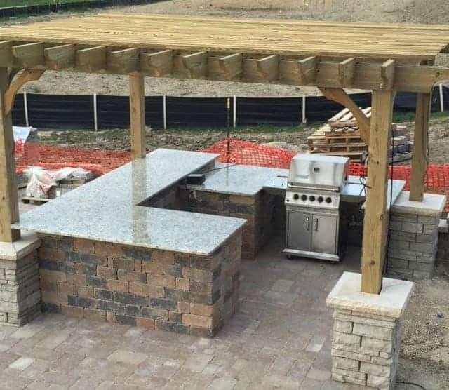 Outdoor Kitchen Features for Outdoor Entertaining | Pergola ...