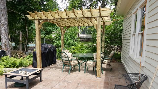 10x15 Pergola Kits | Big Kahuna 10x15 Wood Pergola Kit
