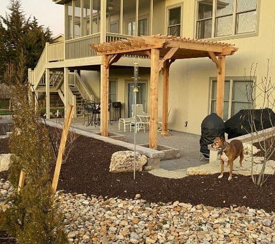 Cedar Big Kahuna Freestanding - 12x12 Pergola