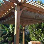 12×14 pergola freestanding cedar