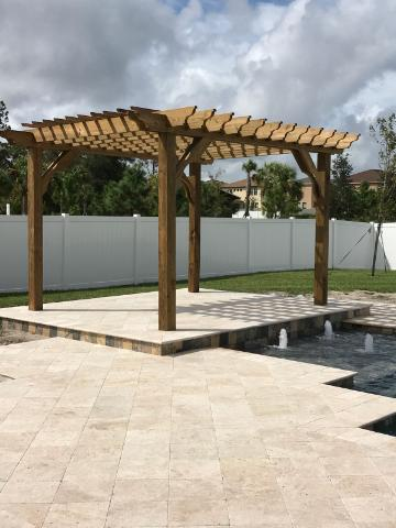 12x14 Pergola Kits | Big Kahuna 12x14 Wood Pergola Kit - Pergola Kits By  Pergola Depot