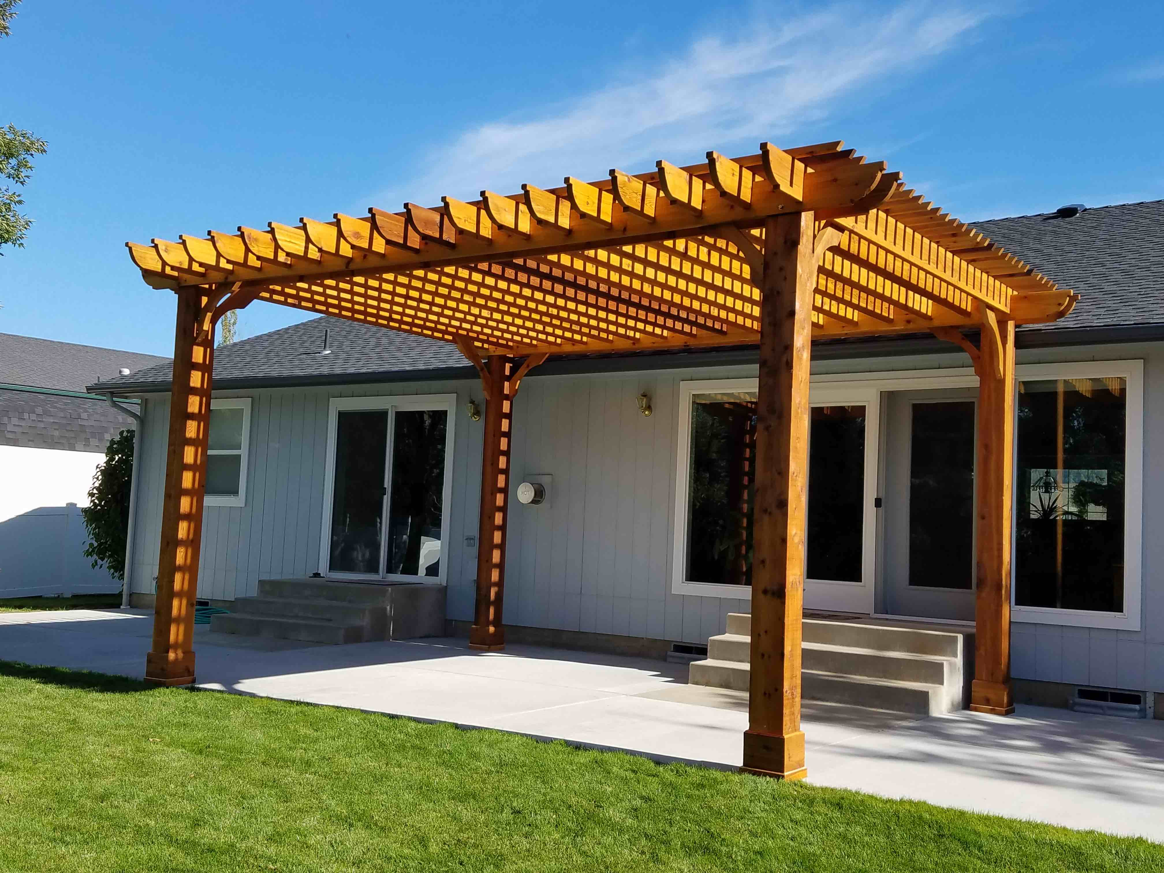 16x20 Pergola Kit Big Kahuna Free Shipping