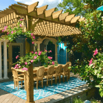Attached BigKahuna pergola