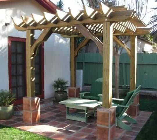 Big Kahuna Freestanding pergola kit 8x8