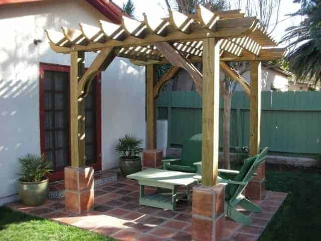 10x18 Pergola Kits | Big Kahuna 10x18 Wood Pergola Kit - Pergola Kits By  Pergola Depot