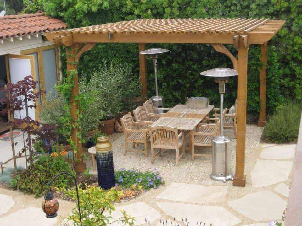 20x20 Pergola Kits Big Kahuna 20x20 Wood Pergola Kit