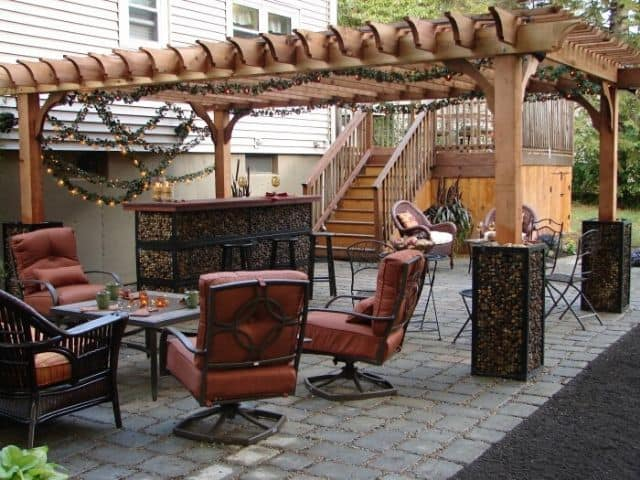 Pergola Decorations for Outdoor Patio - Big Kahuna Pergola