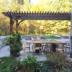 Attached Big Kahuna pergola kit