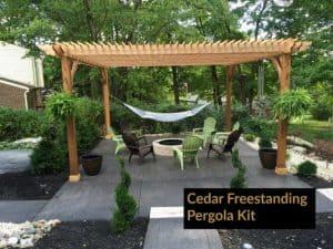 pergola wood comparison