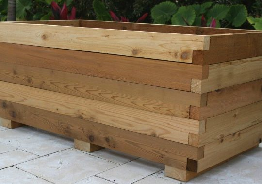 large planter box kit