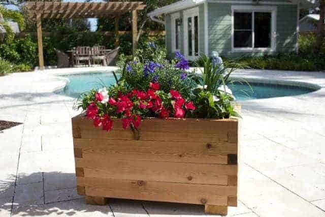 cedar planter box kits