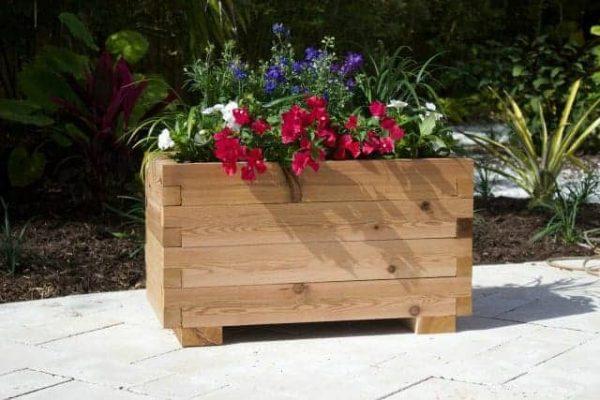 Planter Box Kits Small Cedar Planter Box Pergola Kits By Pergola