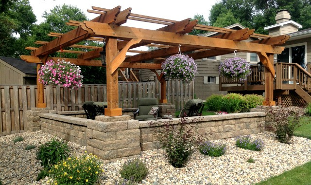 wood pergola patio covers