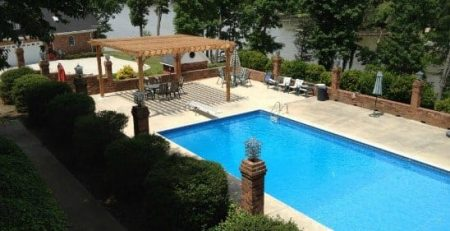 uses for pergola poolside retreat