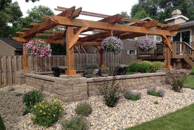 DIY wood patio covers and pergola kits