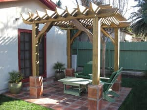 8x8 DIY Pergola Kit Outdoor Patio Cover – Big Kahuna