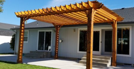 big kahuna 20x20 cedar patio pergola