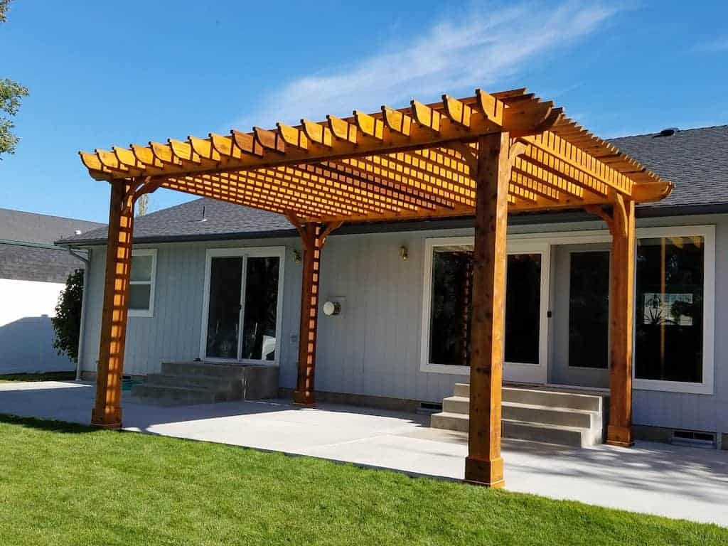 Solid Wood Patio Cover Ideas
