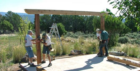 DIY Pergola Kit Assembly Post Installation - Big Kahuna