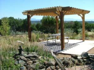 Freestanding Picnic Area Pergola Kits – Big Kahuna