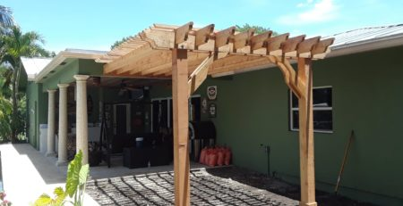 Big Kahuna 15x11 Attached Pergola Patio Cover