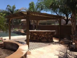Big Kahuna 15x15 Pergola Shade Covers