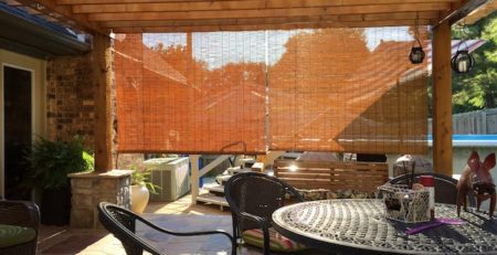 Removable Pergola Shade Covers