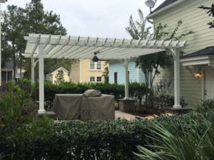20x20 Freestanding Painted Pergola - Big Kahuna