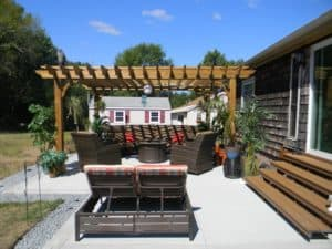 Classic 15x17 Wood Pergola Kit - Big Kahuna