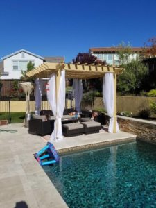 Classic Wood Painted Pergola Kit - Sombrero