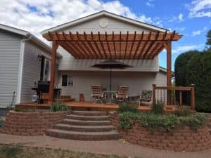 Big Kahuna Attached 15x20 Deck Pergola