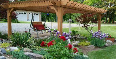Cedar Garden Pergola – Big Kahuna