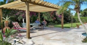 Patio Pergola Plans Full Coverage Pergola